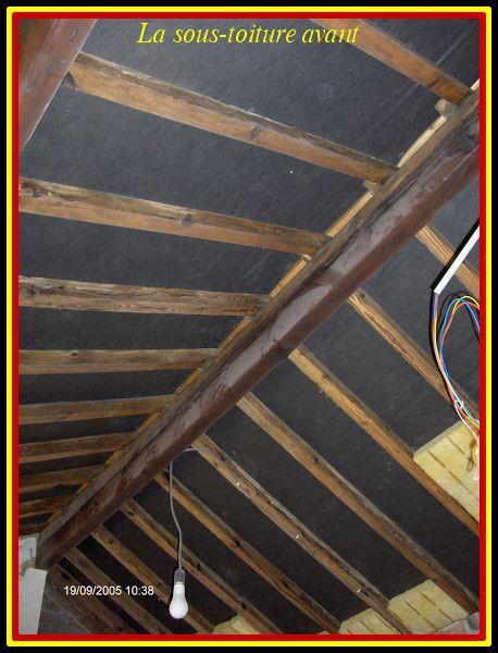 La sous toiture des chambres du grenier for Chambre sous toiture